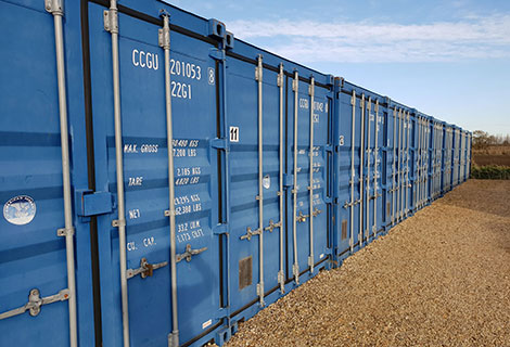 safe and secured container storage
