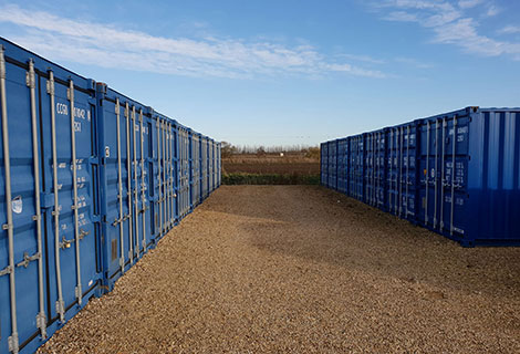 container storage facilities