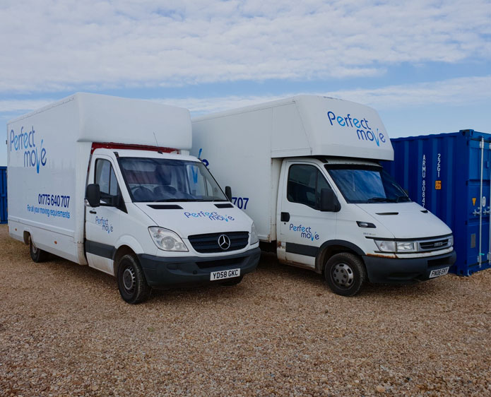 house removals van