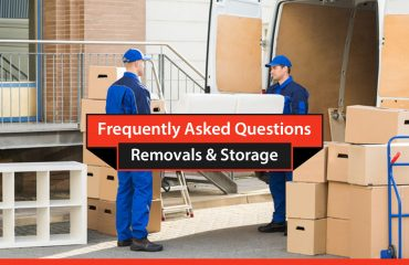 FAQ's from removals and storage clients